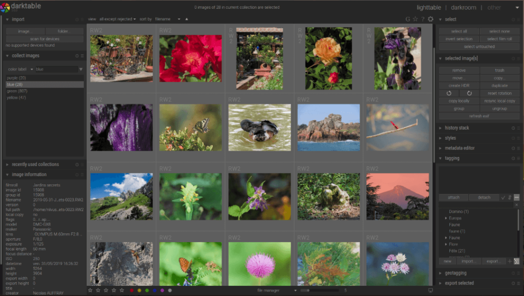 Darktable- best free lightroom alternative