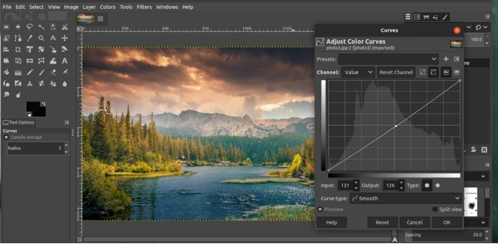 Gimp- best free photo editing software for pc