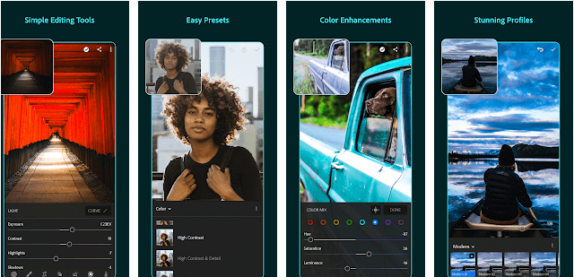 Lightroom- photo editing app for iphone and android
