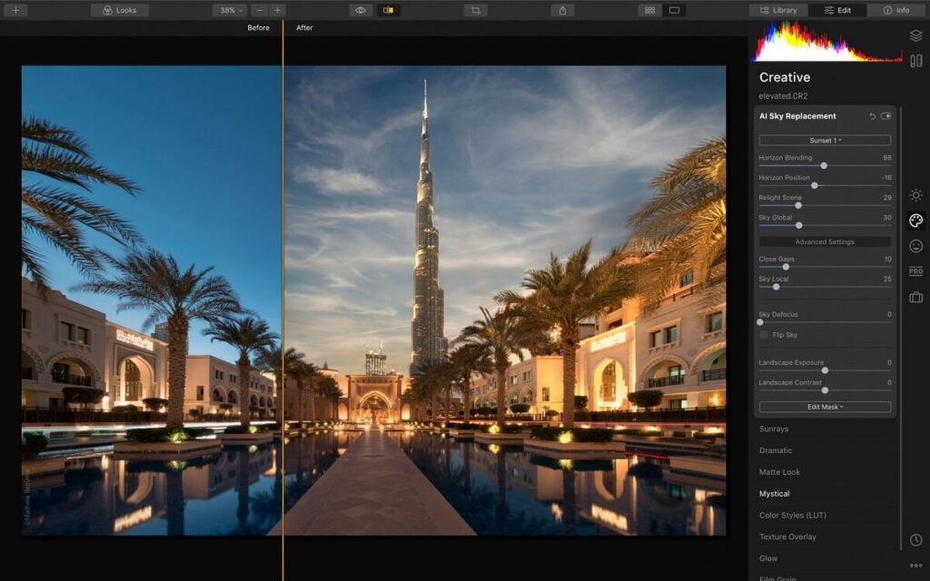 luminar 4 best ai photo editing software