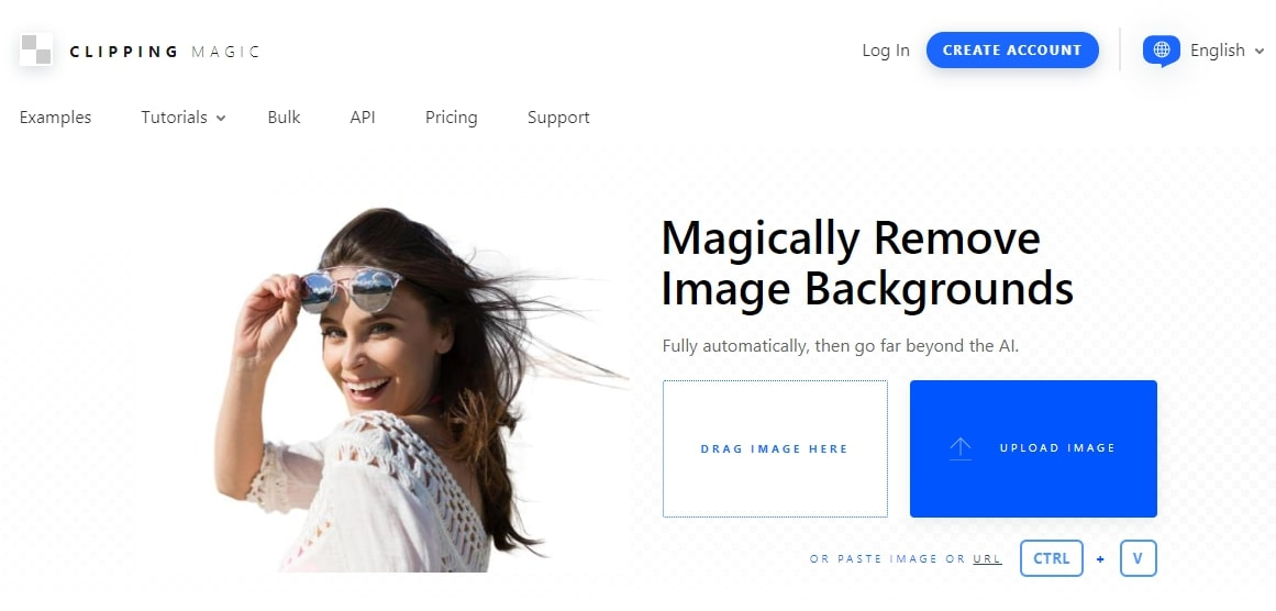 Clipping Magic homepage