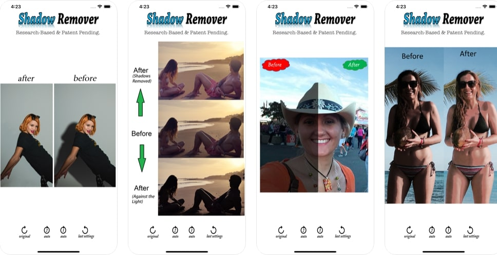 Shadow Remover- best app to remove shadow on iPhone