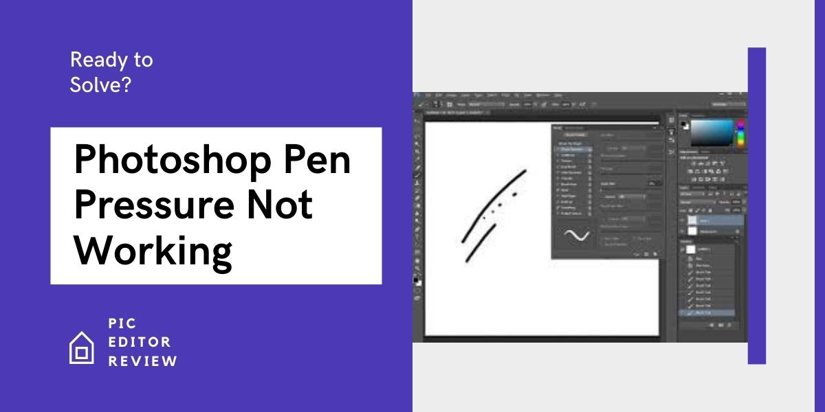 Photoshop Pen Pressure Not Working