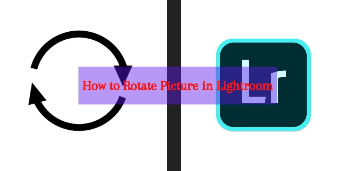 How to rotate a picture in lightroom